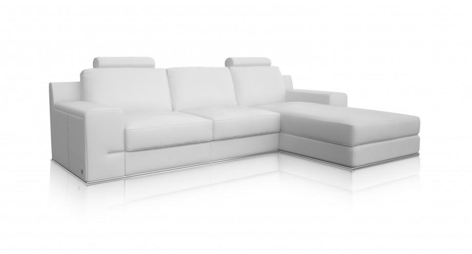 Torrenova White Right Lounge Sofa Miotto Furniture