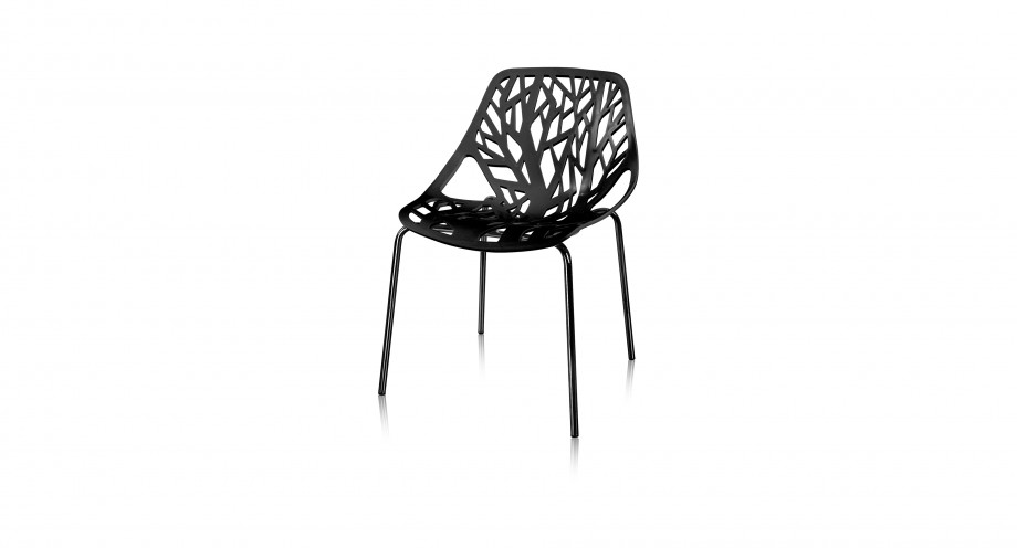 furio DC black front T dining chair