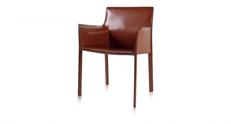 Ardini arm dining chair burgundy miotto furniture