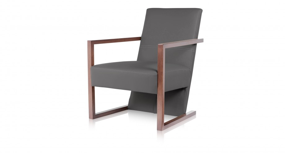 Colonna quadra leisure chair grey miotto lounge fu