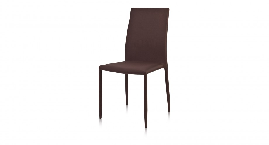 Lara fabric dining chair brown miotto furniture