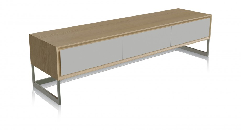 Ligeia TV washed oak unit miotto living furniture