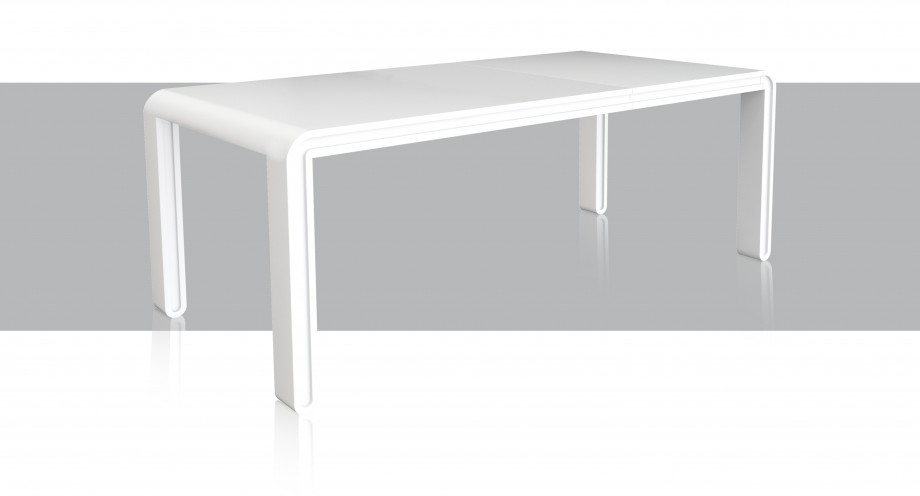 nolana extended dining table, big table miotto