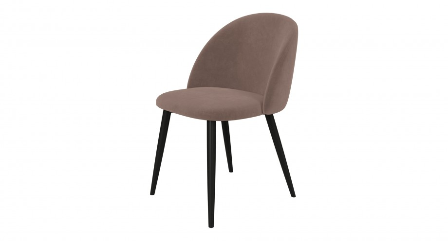 Bressio dining chair brown
