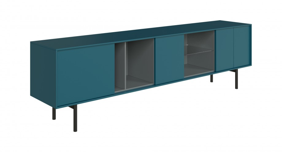 Ostuni TV unit sea green