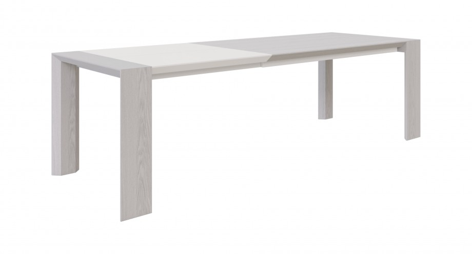 Ligeia dining table white open