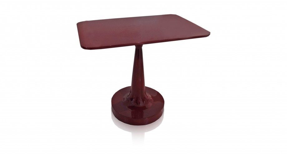 ariani red side table, miotto design furniture
