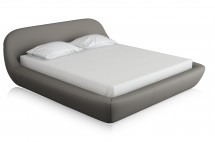 zarra grey fabric bed T miotto design furniture