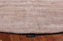 Japair rug rnd brown accessories miotto design