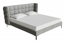 Monza bed grey miotto bedroom furniture